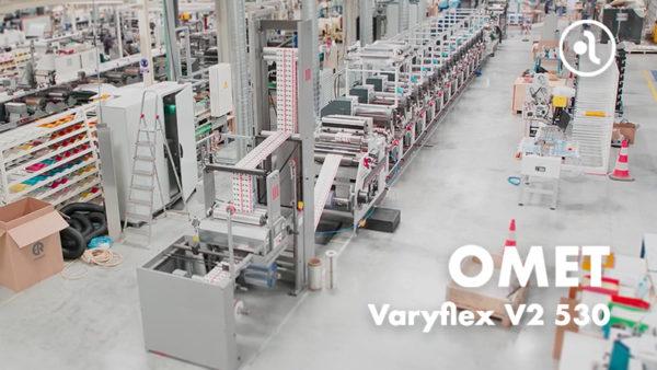 Máquina de impresión Varyflex